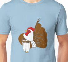 Silver Cocopop (Partridge Base) Unisex T-Shirt