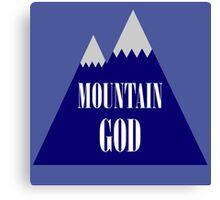 Mountain God Canvas Print