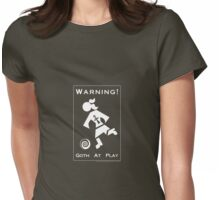 Goth At Play Womens Fitted T-Shirt
