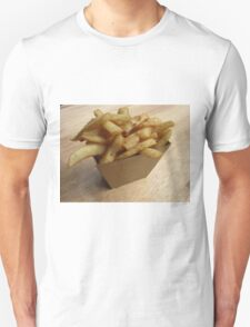 Hot Chips for Cold Days Unisex T-Shirt