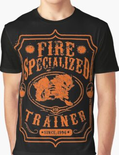 Fire Trainer (Arcanine) Graphic T-Shirt