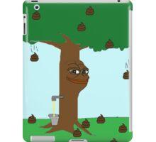 Pepe Piss and Poop tree iPad Case/Skin