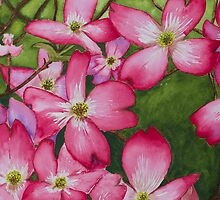 Pink Dogwood by Julie Myers