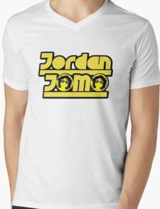 "JordanJoMo ""Double J"" Mens V-Neck T-Shirt"