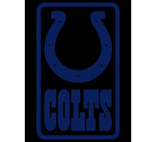 History of The Indianapolis Colts Photographic Print