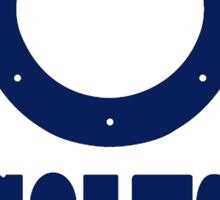 History of The Indianapolis Colts Sticker