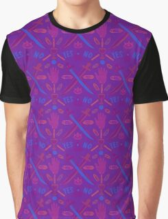 Neon Occult Graphic T-Shirt