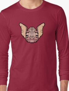 Wrinkle-Faced Bat Long Sleeve T-Shirt