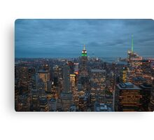 Empire State Building 03 Canvas Print