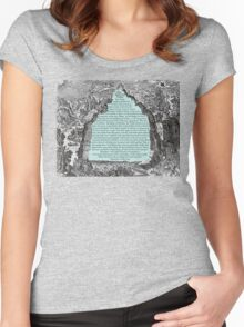 The Emerald Tablet Women's Fitted Scoop T-Shirt