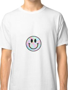 Smiley Face Trippy Classic T-Shirt