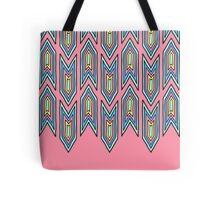 Pastel Arrowheads Tote Bag