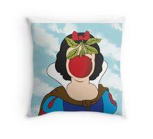 SNOW MAGRITTE Throw Pillow