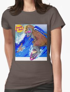 Surfin' USA . . . 68 Million Years Ago Womens Fitted T-Shirt