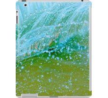 Water blue iPad Case/Skin
