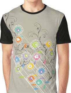 My Groovy Flower Garden Grows Graphic T-Shirt