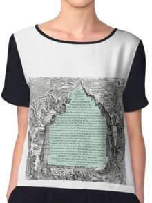 The Emerald Tablet Chiffon Top
