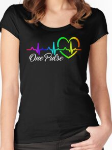 One Pulse Orlando Strong Women's Fitted Scoop T-Shirt