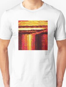 Waterfall at Sunset Unisex T-Shirt