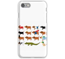 Sneaky Dog and friends iPhone Case/Skin