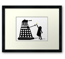 Dalek Stasis Theory Framed Print