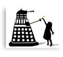Dalek Stasis Theory Canvas Print