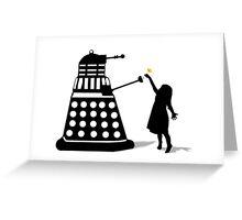 Dalek Stasis Theory Greeting Card