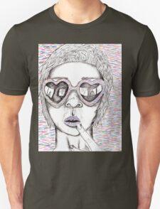 Worry Lines Unisex T-Shirt