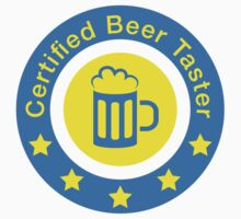 Certified beer taster by Stock Image Folio