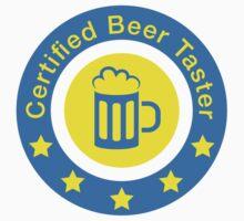 Certified beer taster by Stock Image Folio