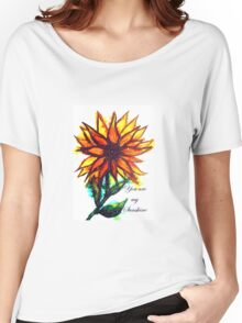 'You are my Sunshine' - Sunflower Women's Relaxed Fit T-Shirt