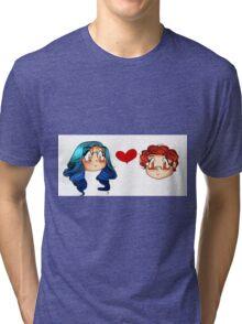 Megchael Sticker Tri-blend T-Shirt