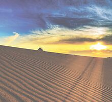Sand Dune Sunset by Christopher Cosgrove