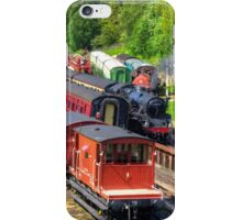Trains at Goathland Station iPhone Case/Skin
