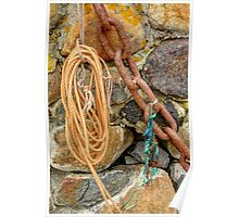 Rope, Chain, Ribbon Poster