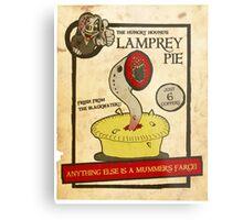 Lamprey Pie Metal Print