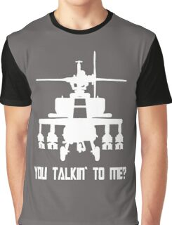 Attach Helicopter  Graphic T-Shirt