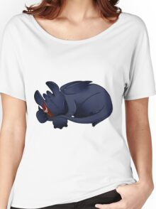 Sleeping Cuties- Toothless Women's Relaxed Fit T-Shirt
