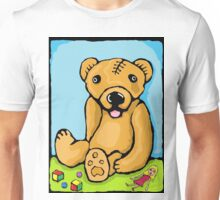 Teddy's had a lobotomy.  Unisex T-Shirt