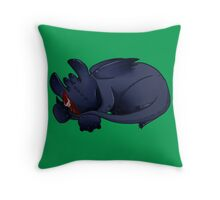 Sleeping Cuties- Toothless Throw Pillow