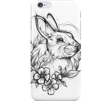 Forest Rabbit iPhone Case/Skin