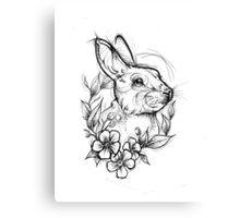 Forest Rabbit Canvas Print