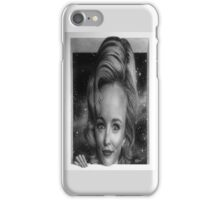 Three-dimensional Rachel McAdams iPhone Case/Skin