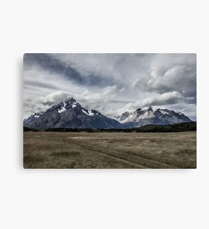 Looking Back, Chile Canvas Print