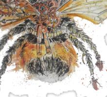 Bee Steampunk Sticker