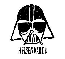 Heisenvader Photographic Print
