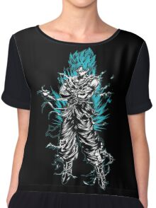 Super Saiyan Goku God Shirt - RB00207 Chiffon Top