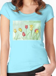 If I was a Tulip Women's Fitted Scoop T-Shirt