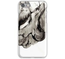 Bone Ink Drawing iPhone Case/Skin