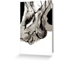 Bone Ink Drawing Greeting Card